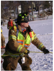 firefighter water rescue