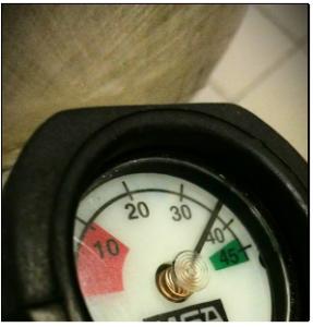 air tank gauge